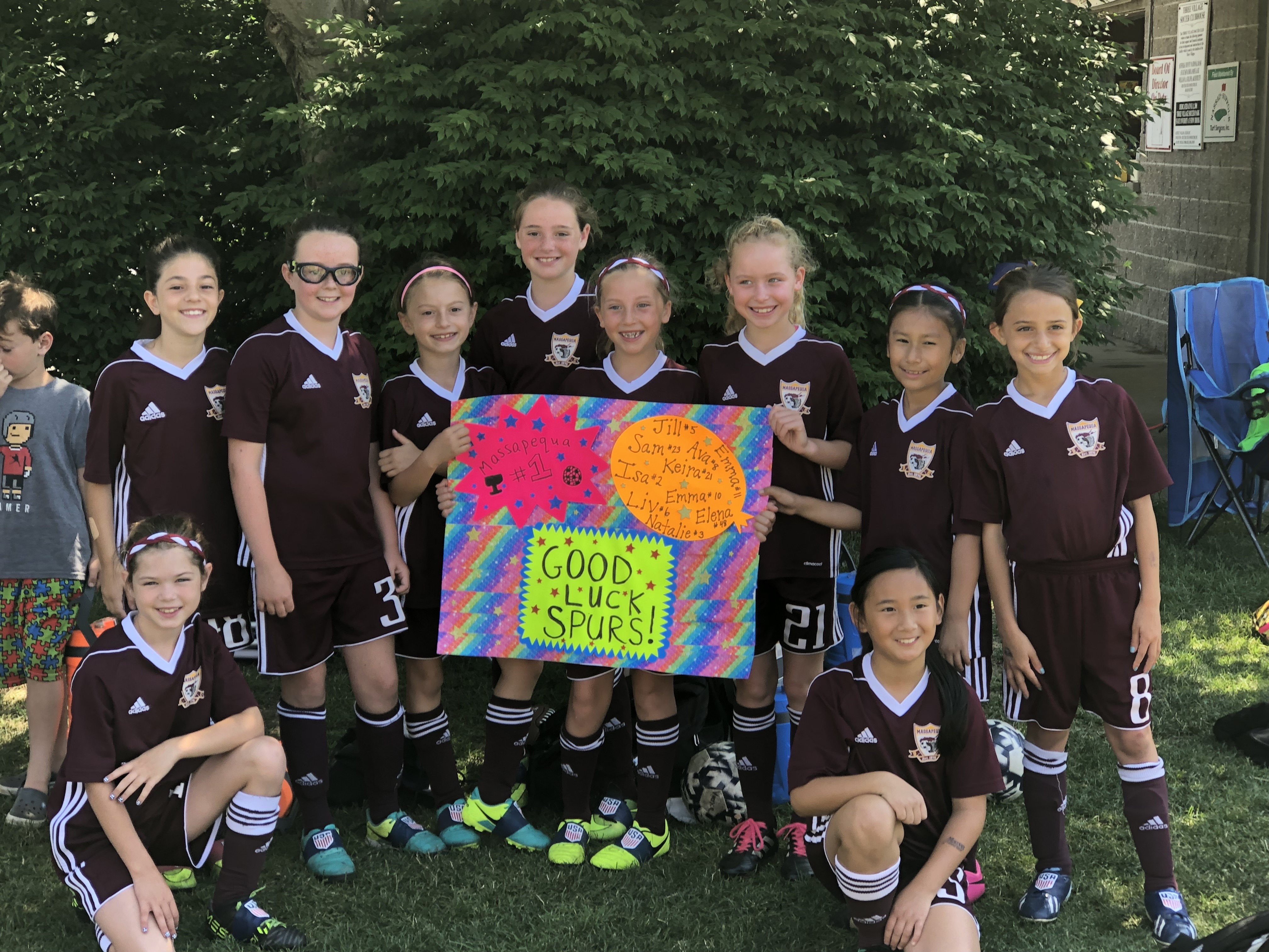 Congratulations to the GU9 2009 MSC Lady Spurs 2018 LI Cup Champions!